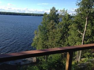 LAKE FRONT CHALET LOG & STONE- BREATHTAKING VIEWS - Buckhorn vacation rentals