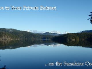 Luxury Waterfront Villas on Sakinaw Lake Sunshine Coast BC - Garden Bay vacation rentals