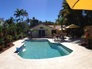 Victoria Park Private Tropical Resort Pool Home - Fort Lauderdale vacation rentals