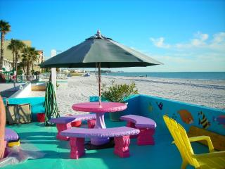 Nothing between you and the Water but Sand! - Madeira Beach vacation rentals