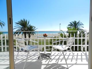 Beachfront Apt.6 balcony & great view & Barcelona - Castelldefels vacation rentals