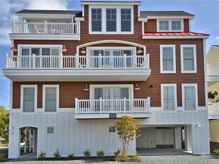 Very nice 6 bedroom, 4 1/2 bath townhome located a block to the private beach in Sussex Shores. Great views! - Bethany Beach vacation rentals