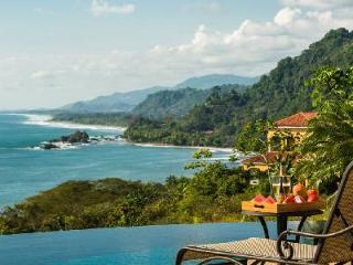 Ocean view Villa Suenos Pacificos in gated community boasts infinity pool & attentive staff - Dominical vacation rentals