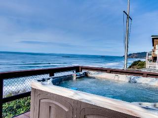 Dog-friendly beachfront home w/private hot tub for whale watching! Close to town - Newport vacation rentals