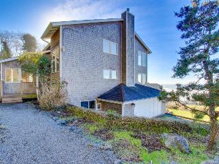 Enjoy gorgeous ocean view decks, a private hot tub & a well-stocked game room! - Lincoln City vacation rentals