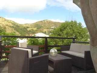 Créole house in tropical garden sunset view - Saint Martin vacation rentals