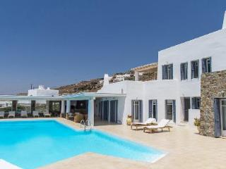 Elegant Aegean Horizon with superb sea views, guest house & secluded infinity pool - Mykonos vacation rentals