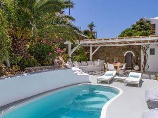 Traditional Mykonian Villa Gaia with Pool, Terrace & Sea Views - 5 min to Town - Mykonos vacation rentals