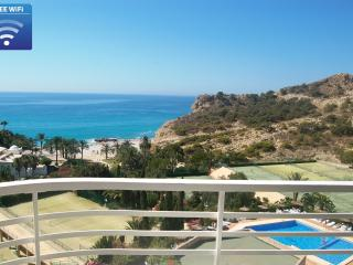 sunny beachfront apartment with stunning seaview - Villajoyosa vacation rentals