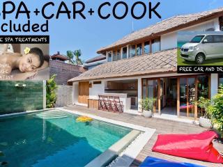 CENTRAL+modern+stylish❤FINE Butler VILLA❤BIG POOL - Seminyak vacation rentals