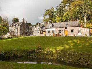TAN LLAN, stunning Grade II listed retreat in extensive grounds, fire, woodburner, games room, superb en-suites, sought-after accommodation in Llanelltyd, Ref. 921373 - Llanelltyd vacation rentals
