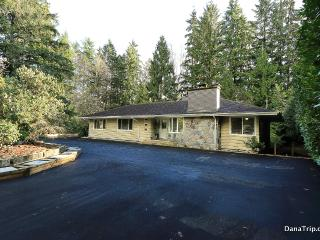 Cul-de-sac Estate w/ Private Backyard and Creek - West Vancouver vacation rentals