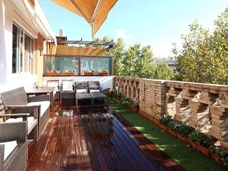 Central 3-Bedr Terraced Penthouse. WiFi & Cable TV - Seville vacation rentals