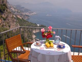 Marechiaro with sea view and terrace - Conca dei Marini vacation rentals