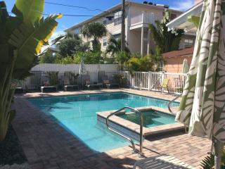 SunTiki Cottages: SandCastle cottage 4 bedroom - Indian Rocks Beach vacation rentals