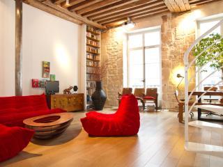 72. 2BR BEAUTIFUL AND STYLISH MARAIS LOFT - Paris vacation rentals
