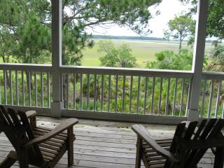 Fripp Island,Beautiful Marsh House,golf cart incl. - Fripp Island vacation rentals
