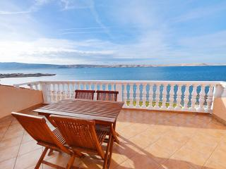 Idyllic apartment by the sea in Vidalici, Croatia, with balcony and amazing view - Vidalici vacation rentals