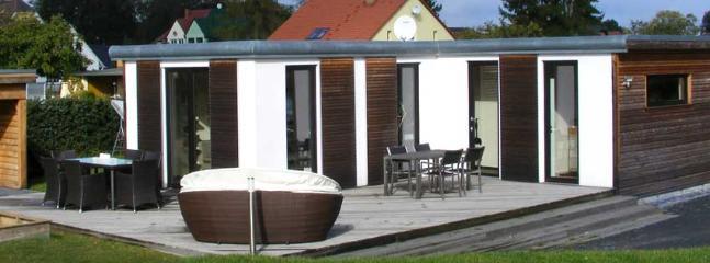 Contemporary bungalow in Ueckermünde, Pomerania, with large patio - Ueckermunde vacation rentals