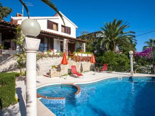Mediterranean-style house in Croatia with pool - Seget Vranjica vacation rentals
