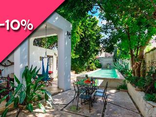 Dreamy lap pool in downtown locale - Merida vacation rentals