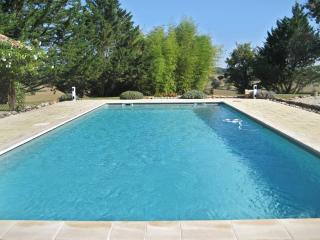 Spacious holiday property in Gascogne, w/2 separate houses, private pool and countryside views - Lectoure vacation rentals