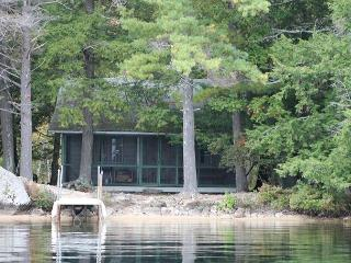 Rustic Lake Winnipesaukee Waterfront Camp in Moultonborough  (AUS76W) - Moultonborough vacation rentals
