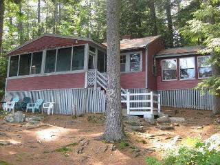 Comfortable Lakefront Camp Vacation Rental on Lake Waukewan Sleeps 8 (COL26W) - Meredith vacation rentals