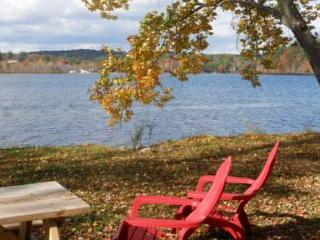 Silver Lake Waterfront, Sandy Beach and Sun! (JAC59Wp) - Belmont vacation rentals