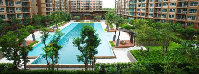 "BANN THEW LOM"" Condominium for rental at ""CHA-AM"" - Cha-am vacation rentals"