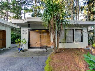 Dog-friendly bayfront home with water access, private hot tub, retro-style charm - Coos Bay vacation rentals