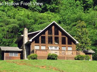 4 bdrm secluded -  Majestic Hollow - Townsend vacation rentals