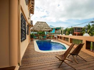 Oceanfront home w/pool! Only steps to beach & short walk to Placencia Village! - Placencia vacation rentals