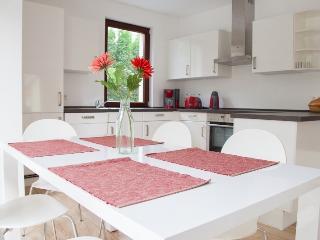 Großes Wohnzimmer - 4 Doppelbettzimmer max.8 Gäste - Berlin vacation rentals