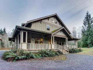 Flawless 16-person getaway on 5 forested acres w/hot tub! - Port Angeles vacation rentals
