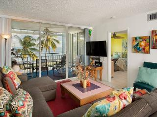 205E La Brisa - 2 Bedroom Oceanfront Condo with a Shared Pool - Key West vacation rentals