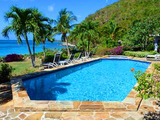 Beach Dreams at Mahoe Bay, Virgin Gorda - Beachfront, Large Fresh Water Pool, Jacuzzi - Mahoe Bay vacation rentals