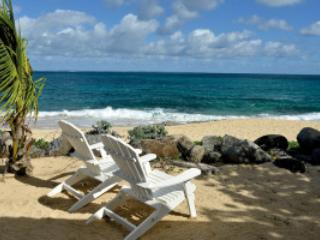 Beau Rivage...Baie Rouge Beach, St Martin 800 480 8555 - BEAU RIVAGE...well designed beachfront villa provides exceptional vistas of Baie Rouge, the Caribbean and the Island of Anguilla. - Baie Rouge - rentals