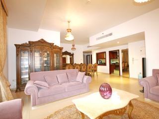 3 Bed+M JBR, Dubai Marina, sea view , high floor - Dubai vacation rentals