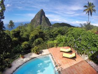 Coco Pitons Villa Overlooking the Pitons Mountains - Marigot Bay vacation rentals