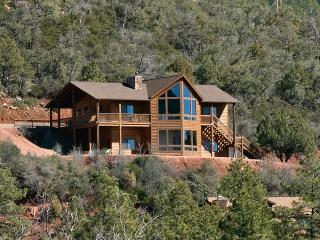 Hillside Cabin with Stunning Views in Pine, Az! - Arizona vacation rentals