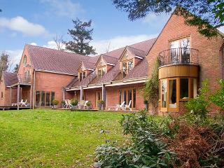 ABBOTS WOOD, detached house in three acres of grounds, indoor swimming pool and bar, near Netley Abbey, Ref 920526 - Chilbolton vacation rentals