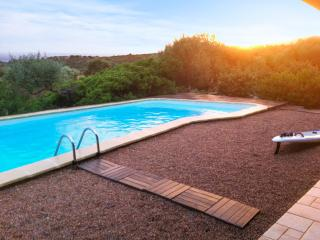 Large, modern villa near the Gulf of Sagone, on Corsica's west coast, w/ swimming pool and sea views - Corsica vacation rentals