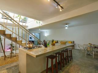 Modern, art-filled escape in historic center. - Merida vacation rentals