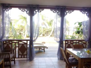 Salt Beach - Beachfront, Sea View and pool - Orient Bay vacation rentals