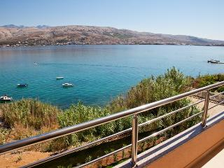 Modern Apartment -directly at the sea - Pag vacation rentals