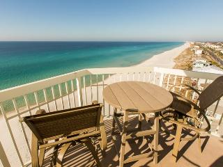Celadon-Beautiful Gulf Front/End Unit/Beach Chairs - Panama City Beach vacation rentals