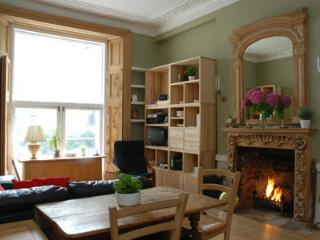 Grand Victorian property with fireplace and garden - London vacation rentals