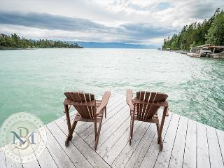 Incredible Lake front Cabin on Flathead Lake! Sleeps 6! - Lakeside vacation rentals