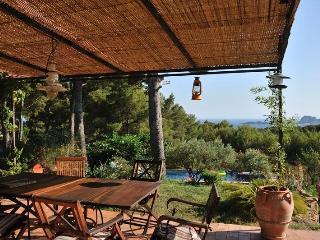 Superbe vue mer et collines,grande piscine,calme - La Ciotat vacation rentals